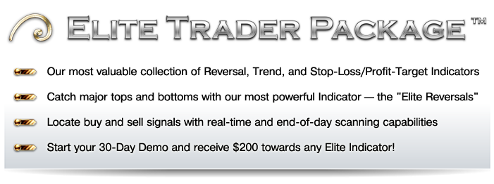 Elite Trader Package Demo Banner