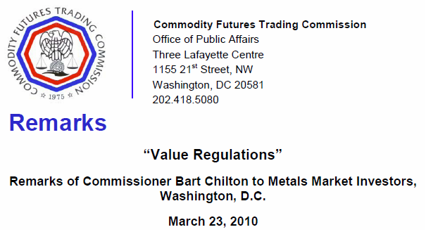 CFTC - Value Regulations banner